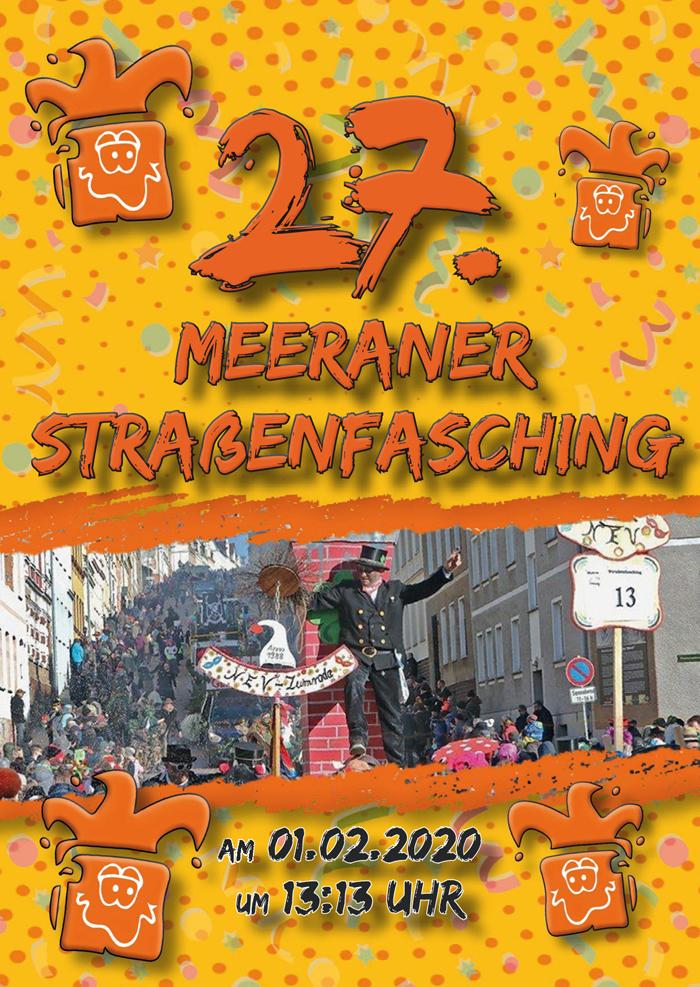Flyer 2020-1 in 27. Straßenfasching